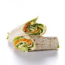 Hummus & Veggie Wrap Up recipe