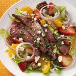 Citrus Steak Salad recipe