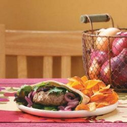 Champion Lamb Burgers for Two recipe