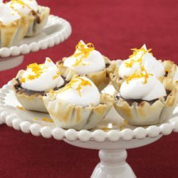 Chocolate Butterscotch Tartlets recipe
