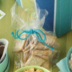 Rosemary Wheat Crackers recipe
