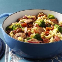Pasta & Broccoli Sausage Simmer recipe
