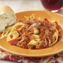 Jazzy Spaghetti Sauce recipe