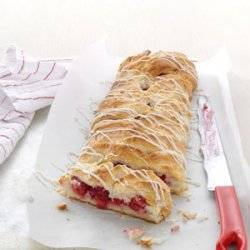Raspberry Breakfast Braid recipe