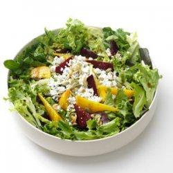 Beets & Greens Salad recipe
