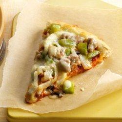 Turkey Sausage Pizza recipe