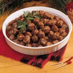 Party Appetizer Meatballs recipe