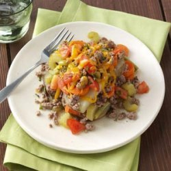 Vegetable Beef Casserole recipe
