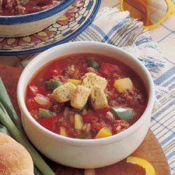 Stuffed Roast Pepper Soup recipe
