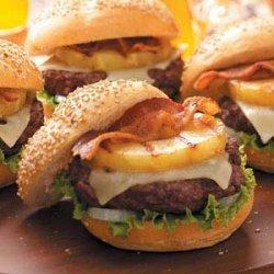 Aloha Burgers recipe