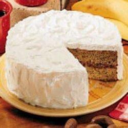 Buttermilk Banana Cake recipe