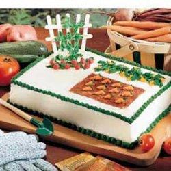 Garden Patch Cake recipe