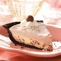Chocolate Malt Shoppe Pie recipe