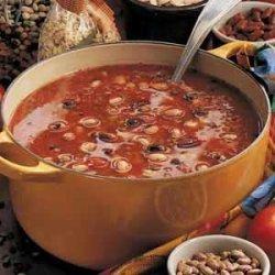 Lucky Bean Soup recipe