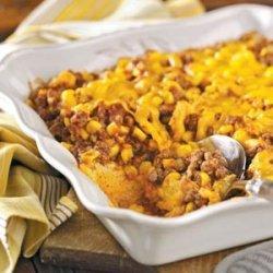 Western Beef and Corn Casserole recipe