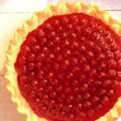 Red, White and Blue Berry Cream Pie  recipe
