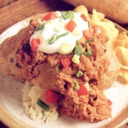 Tex-Mex Stuffed Potatoes recipe