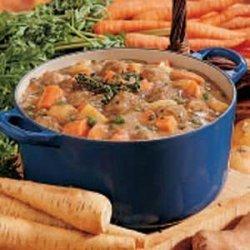Vegetable Meatball Stew recipe