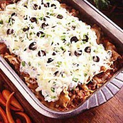 Easy Mexican Lasagna recipe