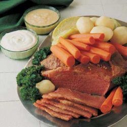 Favorite Corned Beef and Cabbage recipe