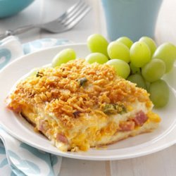 Ham 'n' Cheese Strata recipe