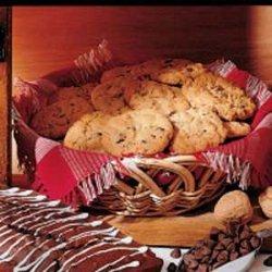 Chocolate Chip Peanut Butter Cookies recipe