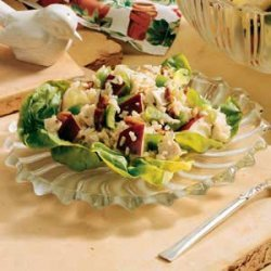 Brown Rice Apple Salad recipe