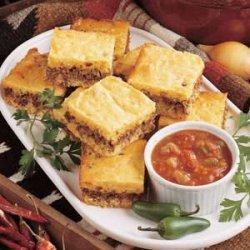 Zesty Beef Corn Bread Dinner recipe