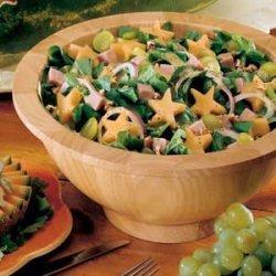 Superstar Spinach Salad recipe