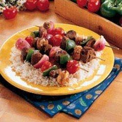 Teriyaki Beef Kabobs recipe