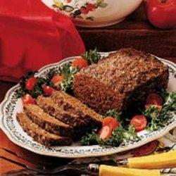Pesto Meat loaf recipe