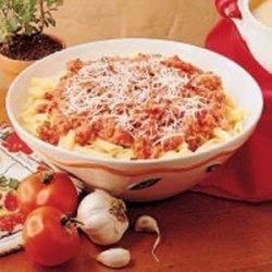 Fresh Tomato Pasta Toss recipe