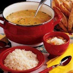 Mom's Special Chicken Soup recipe