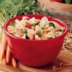 Pasta Salad with Poppy Seed Dressing recipe