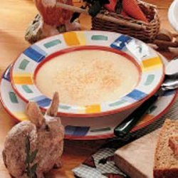 Flavorful Cream of Carrot Soup recipe