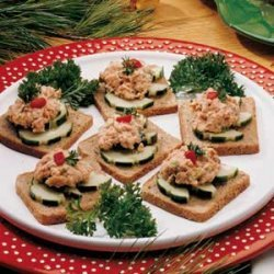 Salmon Canapes recipe