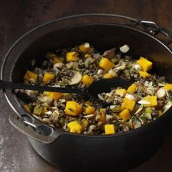 Wild Rice and Squash Pilaf recipe