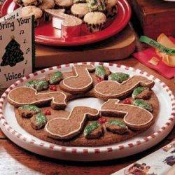 Gingerbread Cookie Wreath recipe