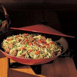 Italian Sausage and Zucchini Stir-Fry recipe