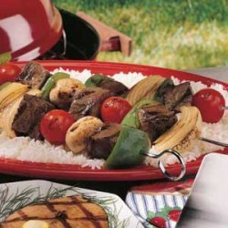 Teriyaki Kabobs recipe