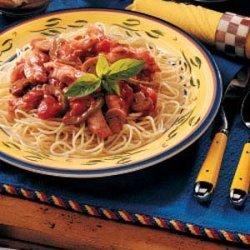 Chicken Spaghetti Supper recipe