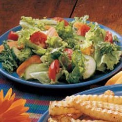 Salad with Oil-Free Dressing recipe