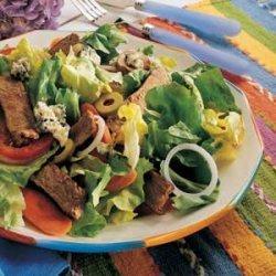 Buffalo Steak Salad recipe