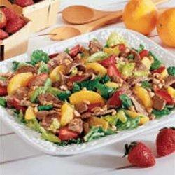 Summer Salad with Citrus Vinaigrette recipe