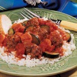 Meatball Skillet Meal recipe