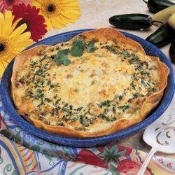 Corn Tortilla Quiche recipe