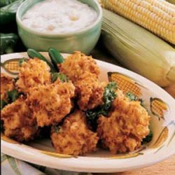 Chicken Corn Fritters recipe