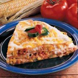 Egg and Corn Quesadilla recipe