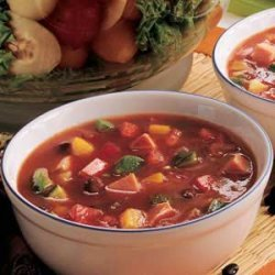 Black Bean Gazpacho recipe