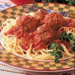 Italian Spaghetti 'n' Meatballs recipe